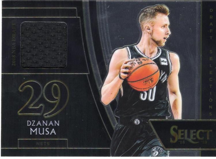 2018-19 Panini Select Draft Selections Memorabilia