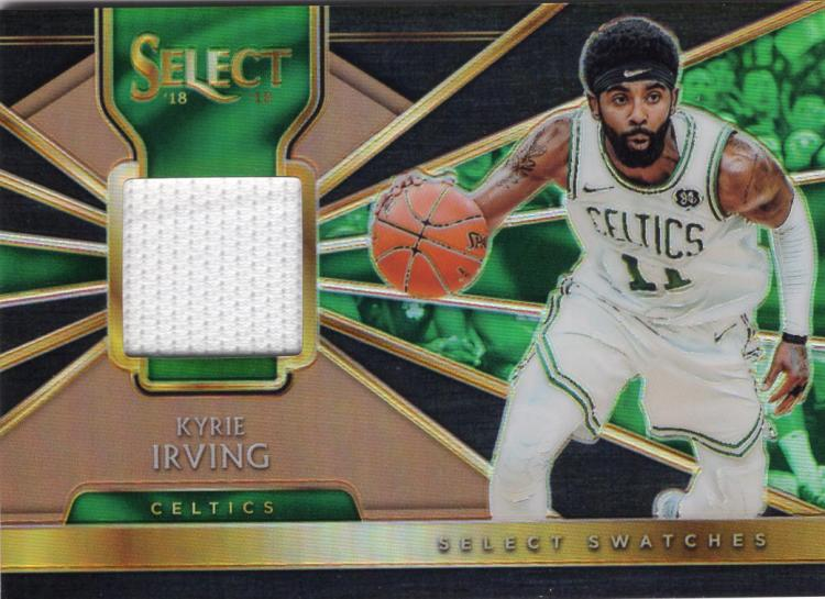 2018-19 Panini Select Select Swatches Copper Prizms