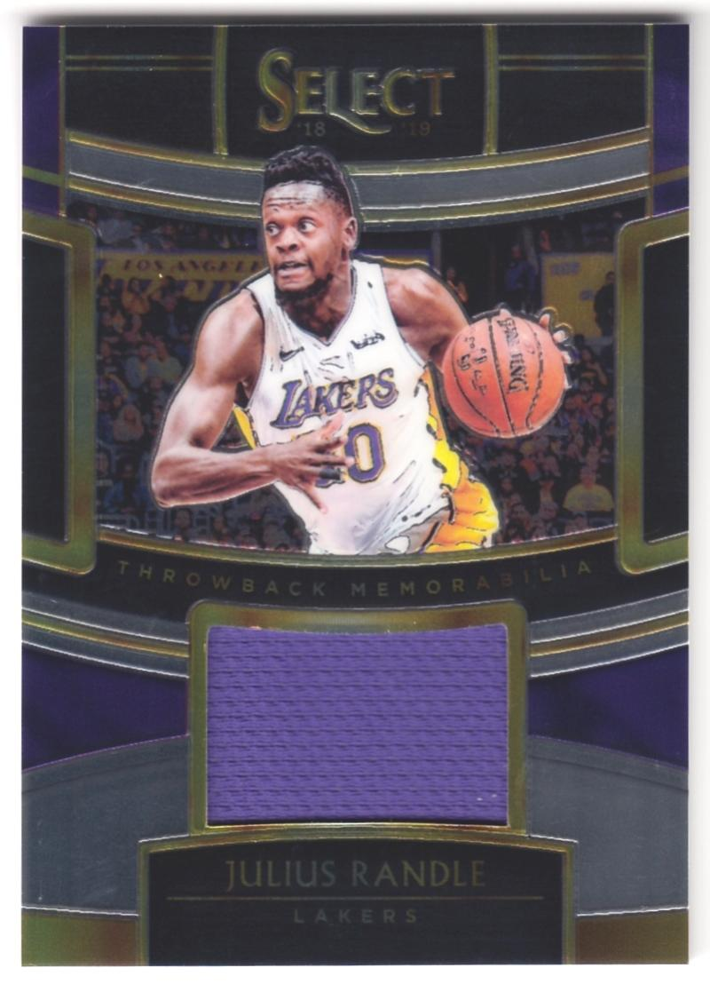 2018-19 Panini Select Throwback Memorabilia