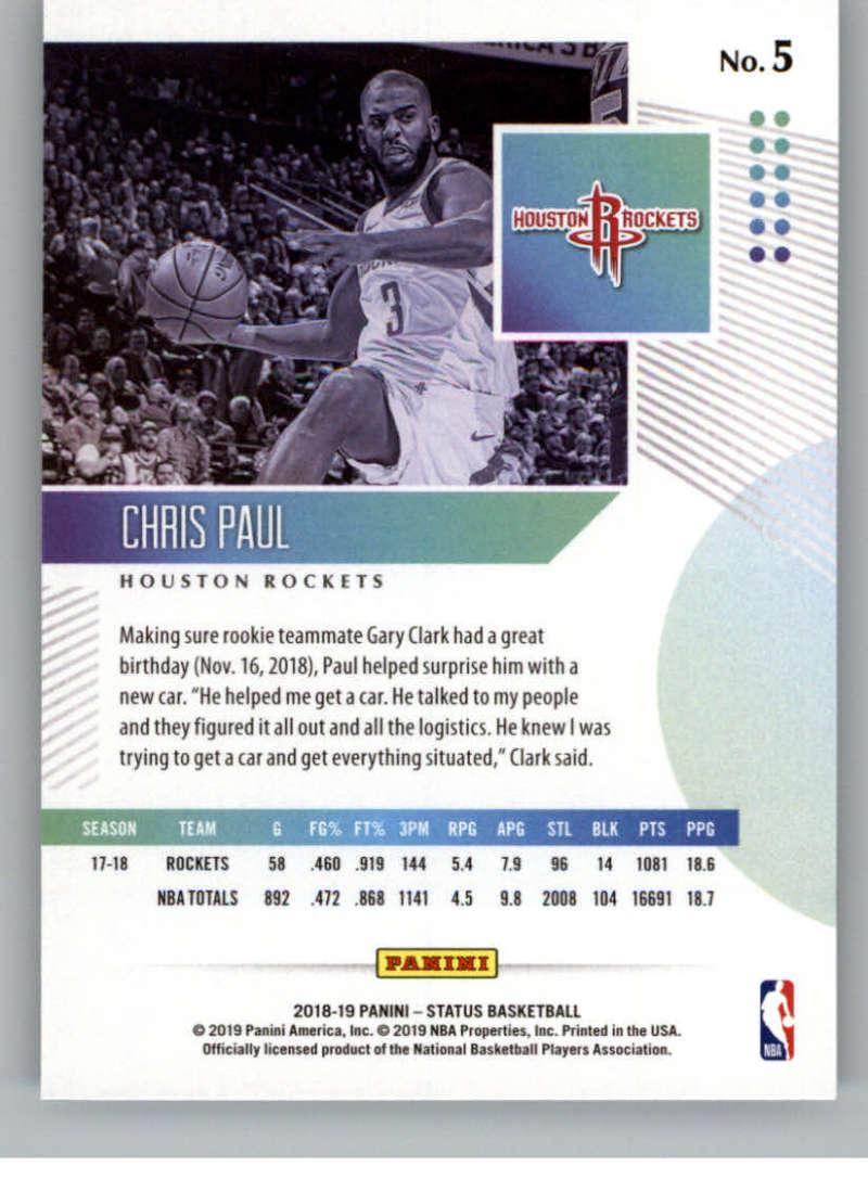 2018-19-Panini-Status-NBA-Basketball-Green-Parallel-Singles-Pick-Your-Cards thumbnail 9