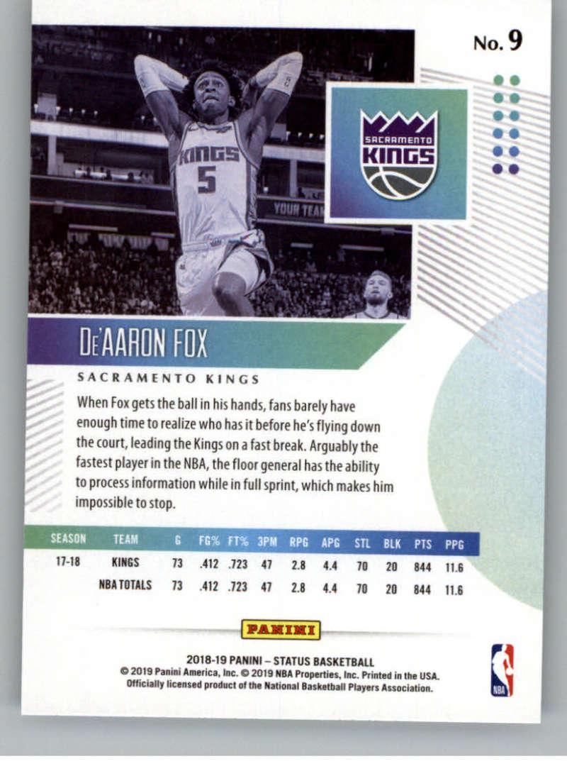 2018-19-Panini-Status-NBA-Basketball-Green-Parallel-Singles-Pick-Your-Cards thumbnail 15