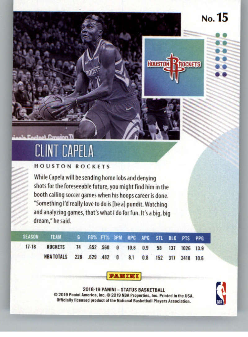 2018-19-Panini-Status-NBA-Basketball-Green-Parallel-Singles-Pick-Your-Cards thumbnail 21