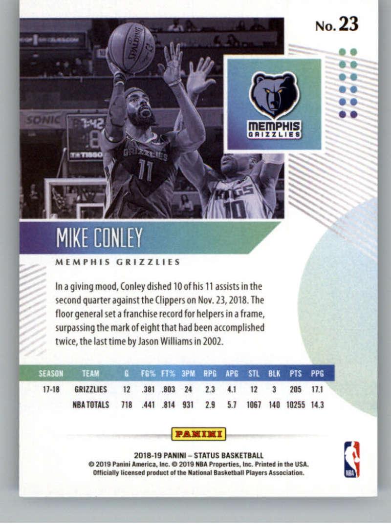 2018-19-Panini-Status-NBA-Basketball-Green-Parallel-Singles-Pick-Your-Cards thumbnail 29