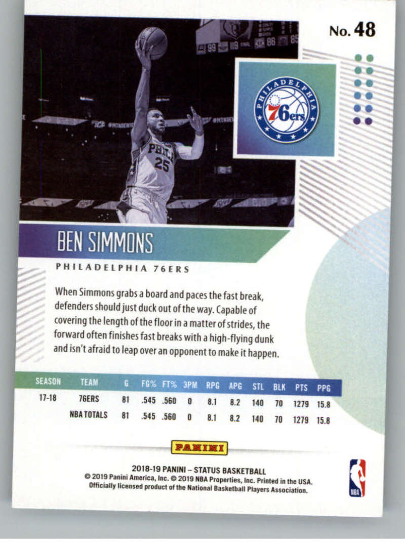 2018-19-Panini-Status-NBA-Basketball-Green-Parallel-Singles-Pick-Your-Cards thumbnail 51