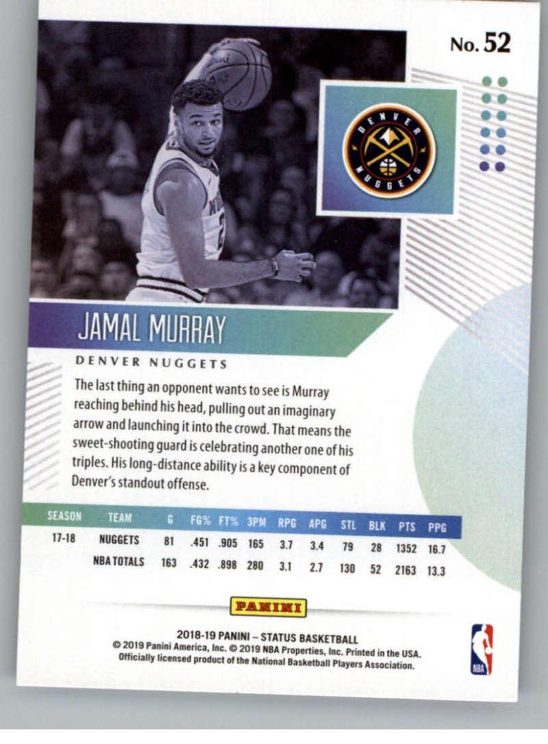 2018-19-Panini-Status-NBA-Basketball-Green-Parallel-Singles-Pick-Your-Cards thumbnail 57