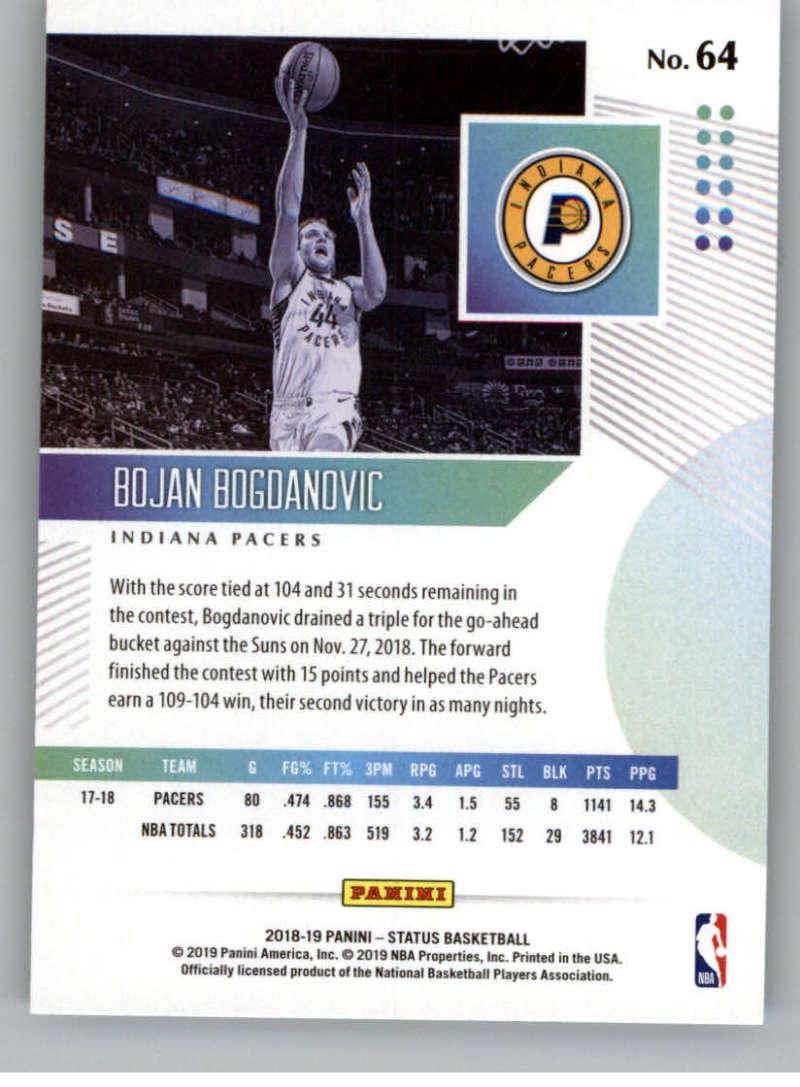 2018-19-Panini-Status-NBA-Basketball-Green-Parallel-Singles-Pick-Your-Cards thumbnail 73