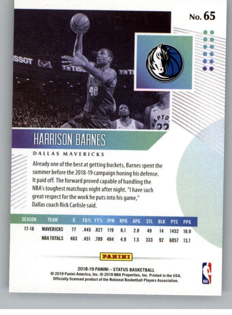 2018-19-Panini-Status-NBA-Basketball-Green-Parallel-Singles-Pick-Your-Cards thumbnail 75