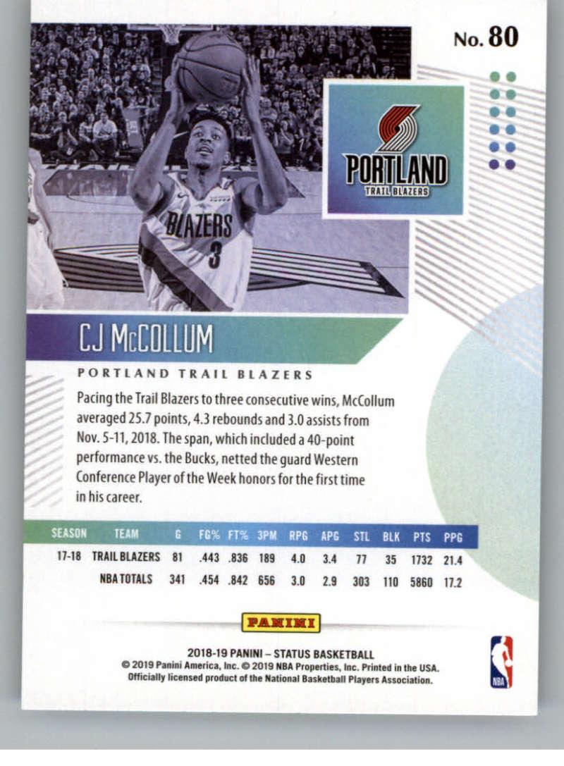 2018-19-Panini-Status-NBA-Basketball-Green-Parallel-Singles-Pick-Your-Cards thumbnail 89