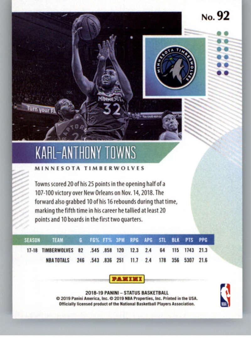 2018-19-Panini-Status-NBA-Basketball-Green-Parallel-Singles-Pick-Your-Cards thumbnail 95