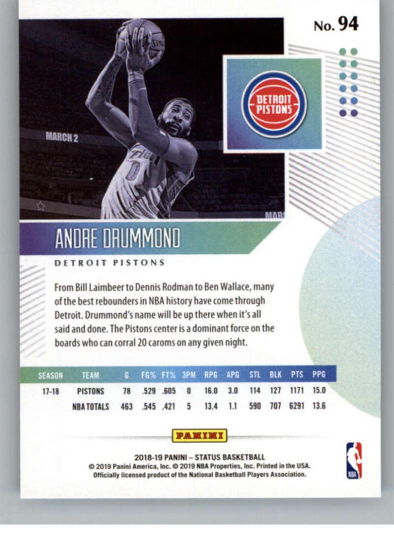 2018-19-Panini-Status-NBA-Basketball-Green-Parallel-Singles-Pick-Your-Cards thumbnail 97