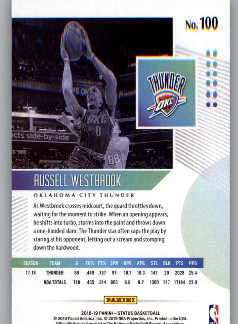 2018-19-Panini-Status-NBA-Basketball-Green-Parallel-Singles-Pick-Your-Cards thumbnail 101