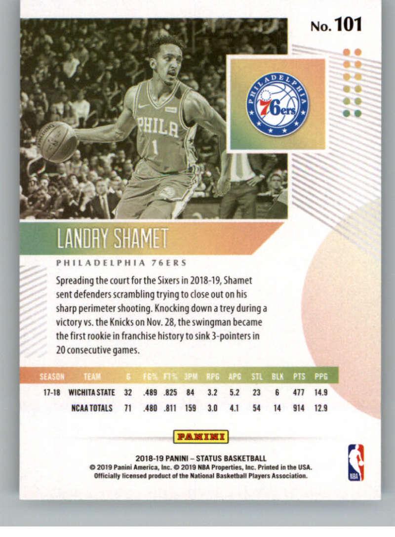 2018-19-Panini-Status-NBA-Basketball-Green-Parallel-Singles-Pick-Your-Cards thumbnail 103