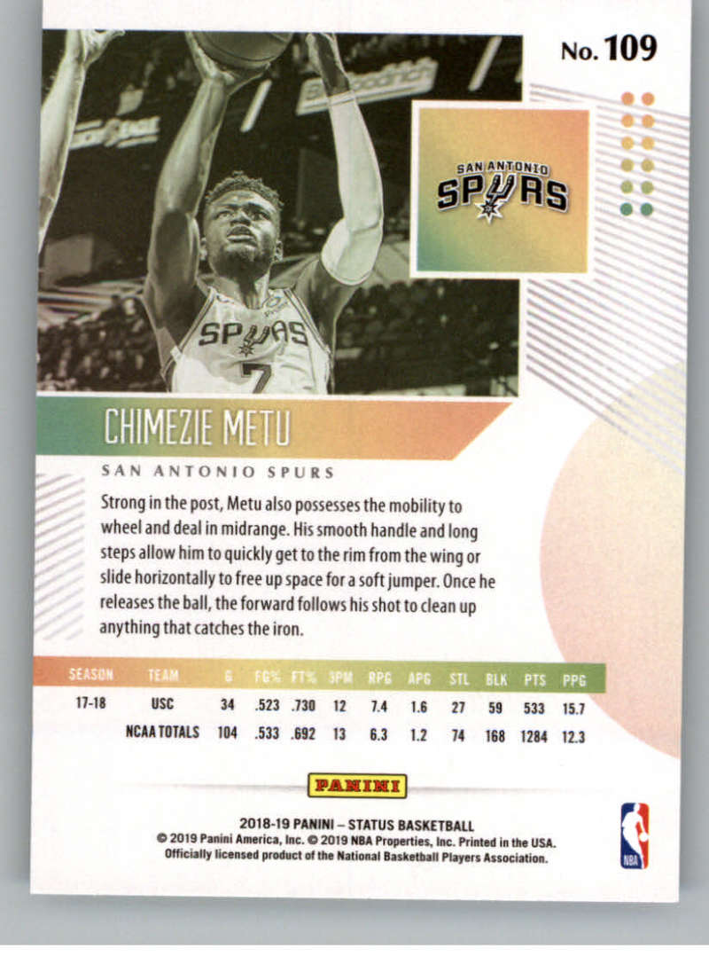 2018-19-Panini-Status-NBA-Basketball-Green-Parallel-Singles-Pick-Your-Cards thumbnail 117