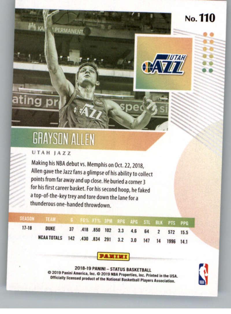 2018-19-Panini-Status-NBA-Basketball-Green-Parallel-Singles-Pick-Your-Cards thumbnail 119