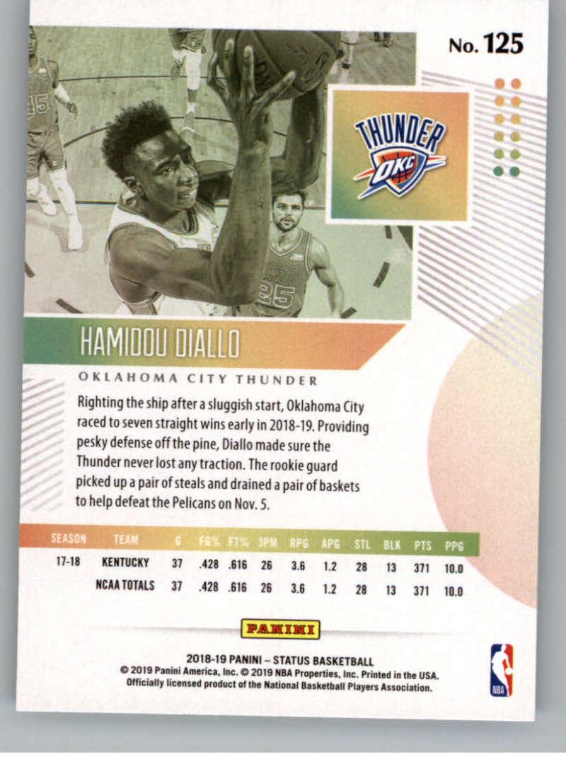 2018-19-Panini-Status-NBA-Basketball-Green-Parallel-Singles-Pick-Your-Cards thumbnail 141