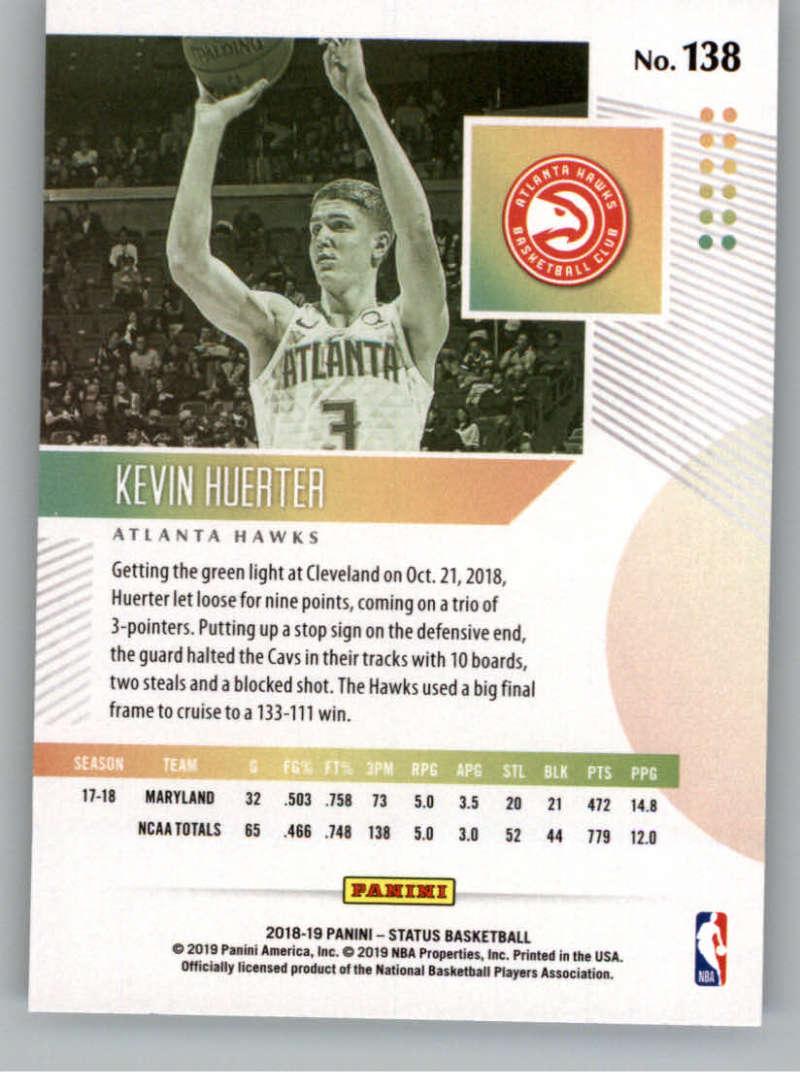 2018-19-Panini-Status-NBA-Basketball-Green-Parallel-Singles-Pick-Your-Cards thumbnail 159