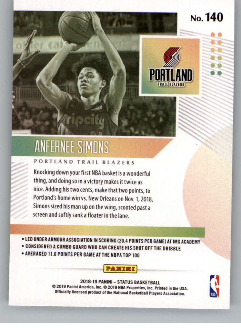 2018-19-Panini-Status-NBA-Basketball-Green-Parallel-Singles-Pick-Your-Cards thumbnail 163