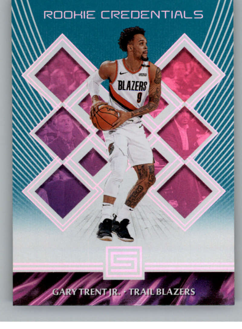 2018-19 Panini Status Rookie Credentials Aqua