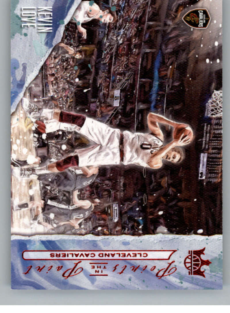 2018-19 Panini Court Kings Points in the Paint Ruby