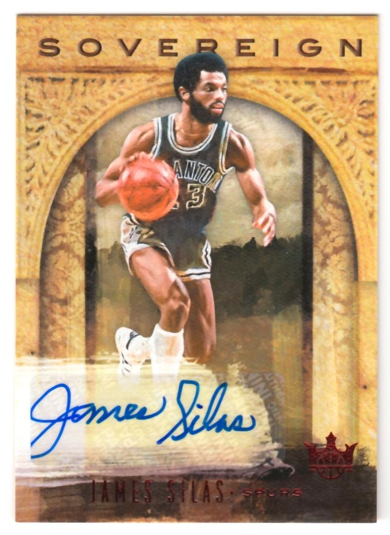 2018-19 Panini Court Kings Sovereign Signatures Ruby