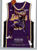 2018-19 NBA Threads Statement SP #215 LeBron James Los Angeles Lakers  Official Panini Retail Basketball Card