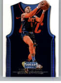 2018-19 NBA Threads Statement SP #218 Russell Westbrook Oklahoma City Thunder  Official Panini Retail Basketball Card