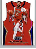 2018-19 NBA Threads Statement SP #219 Anthony Davis New Orleans Pelicans  Official Panini Retail Basketball Card
