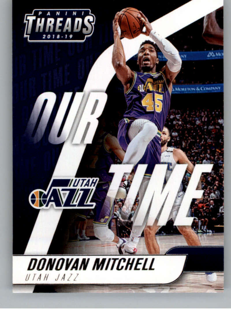 2018-19 Panini Threads Our Time