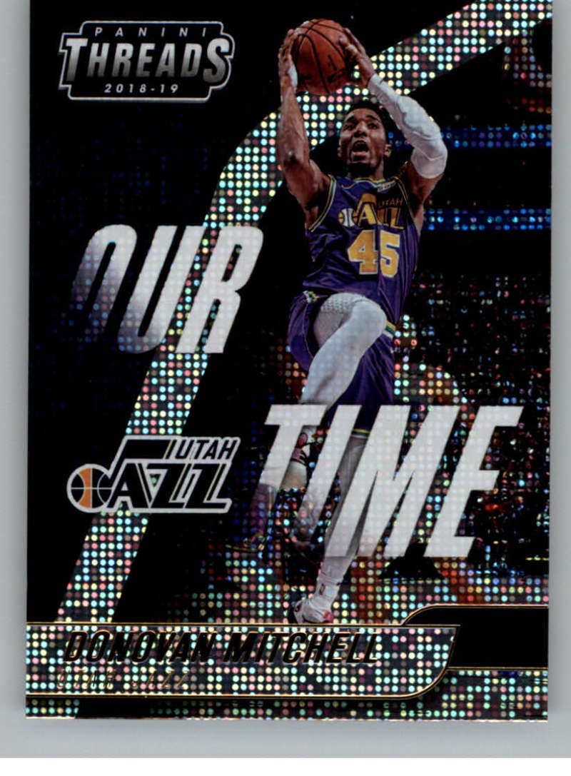 2018-19 Panini Threads Our Time Dazzle