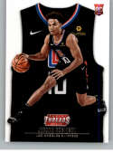 2018-19 NBA Threads Statement Rookie Card #202 Jerome Robinson Los Angeles Clippers  Official Panini Retail Basketball Card