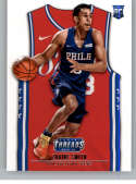 2018-19 NBA Threads Statement Rookie Card #210 Zhaire Smith Philadelphia 76ers  Official Panini Retail Basketball Card