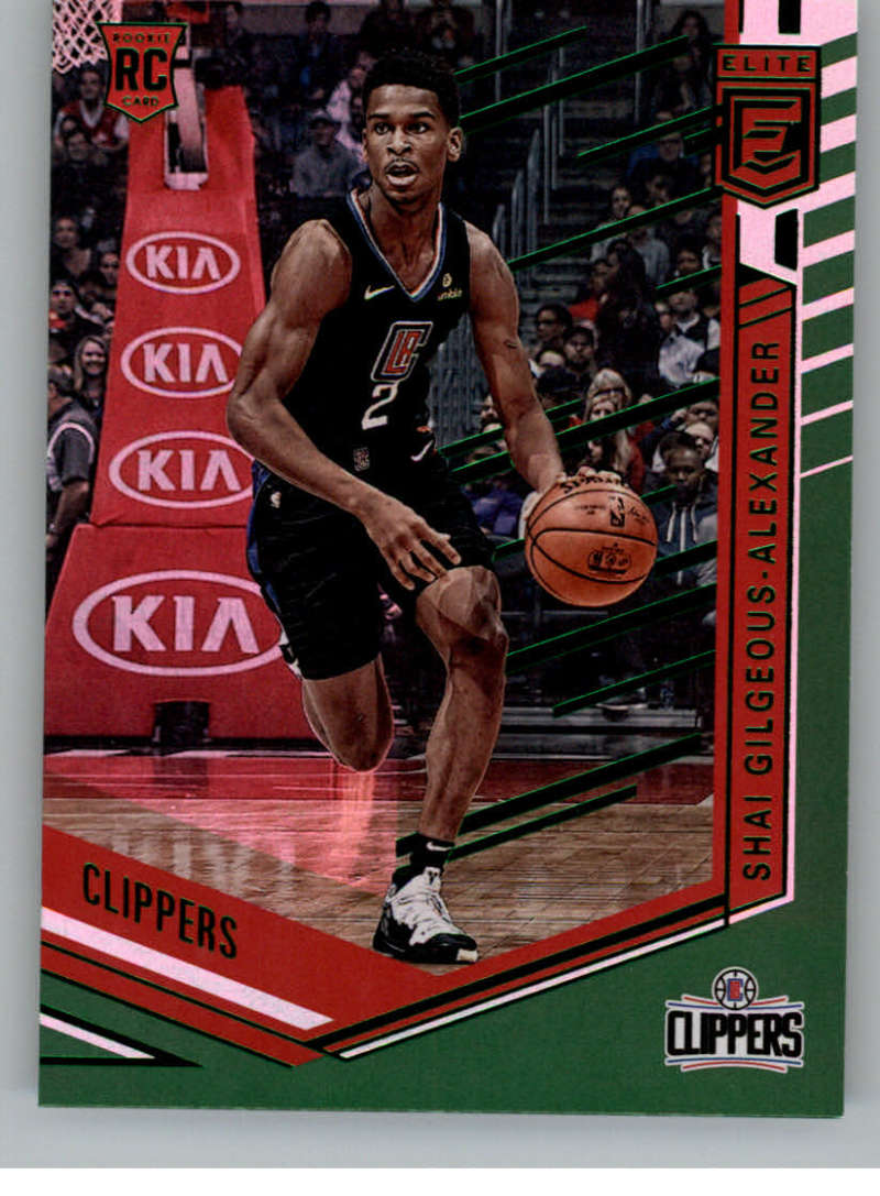 2018-19 Panini Chronicles Base Elite Green