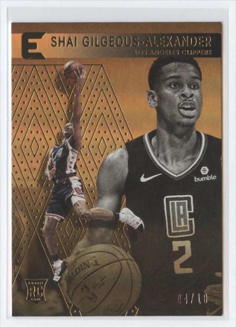 2018-19 Panini Chronicles Base Essentials Gold