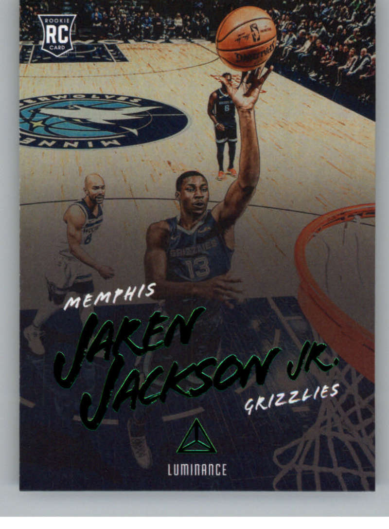 2018-19 Panini Chronicles Base Luminance Green