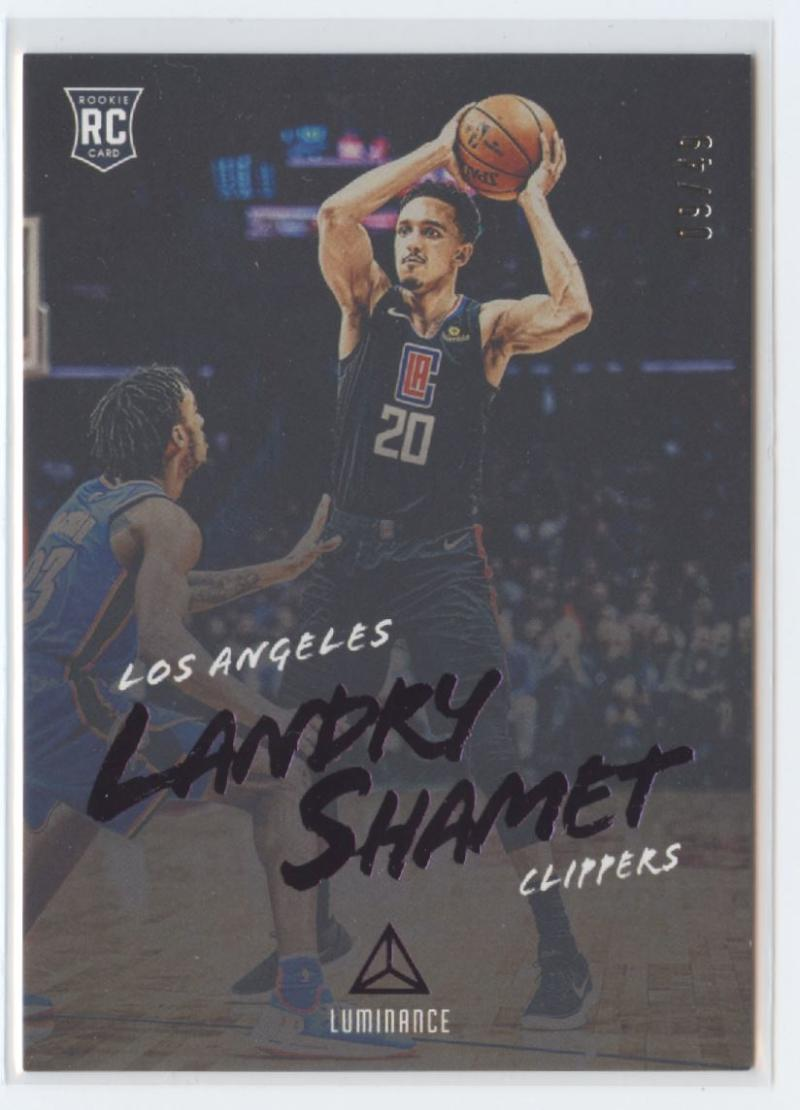 2018-19 Panini Chronicles Base Luminance Purple