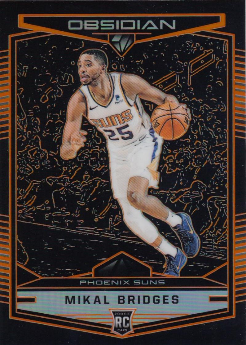 2018-19 Panini Chronicles Base Obsidian Preview Orange