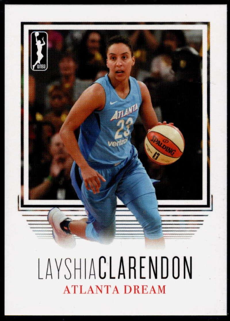 2018 Rittenhouse WNBA #5 Layshia Clarendon NM-MT+ Atlanta Dream