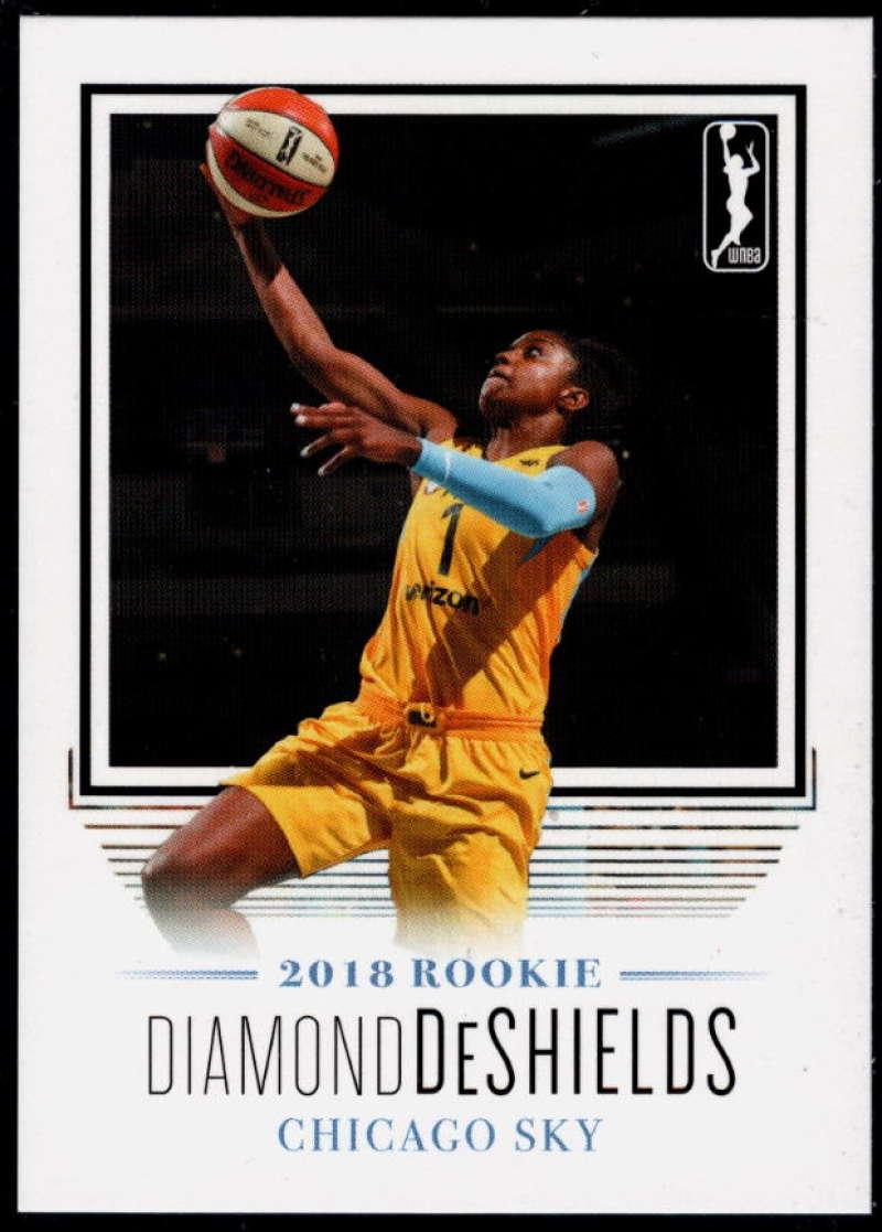2018 Rittenhouse WNBA #14 Diamond DeShields NM-MT+ Chicago Sky