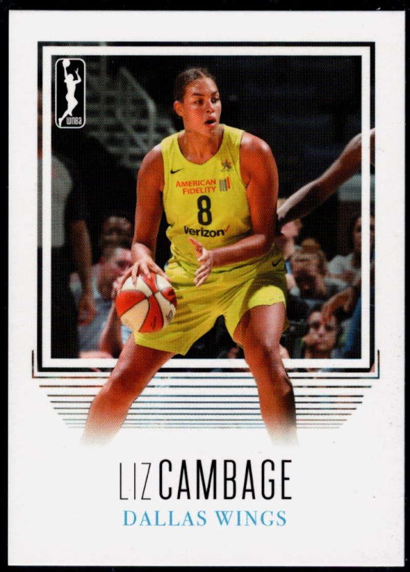 2018 Rittenhouse WNBA #36 Liz Cambage NM-MT+ Dallas Wings