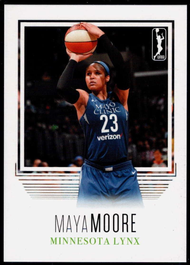 2018 Rittenhouse WNBA #70 Maya Moore NM-MT+ Minnesota Lynx