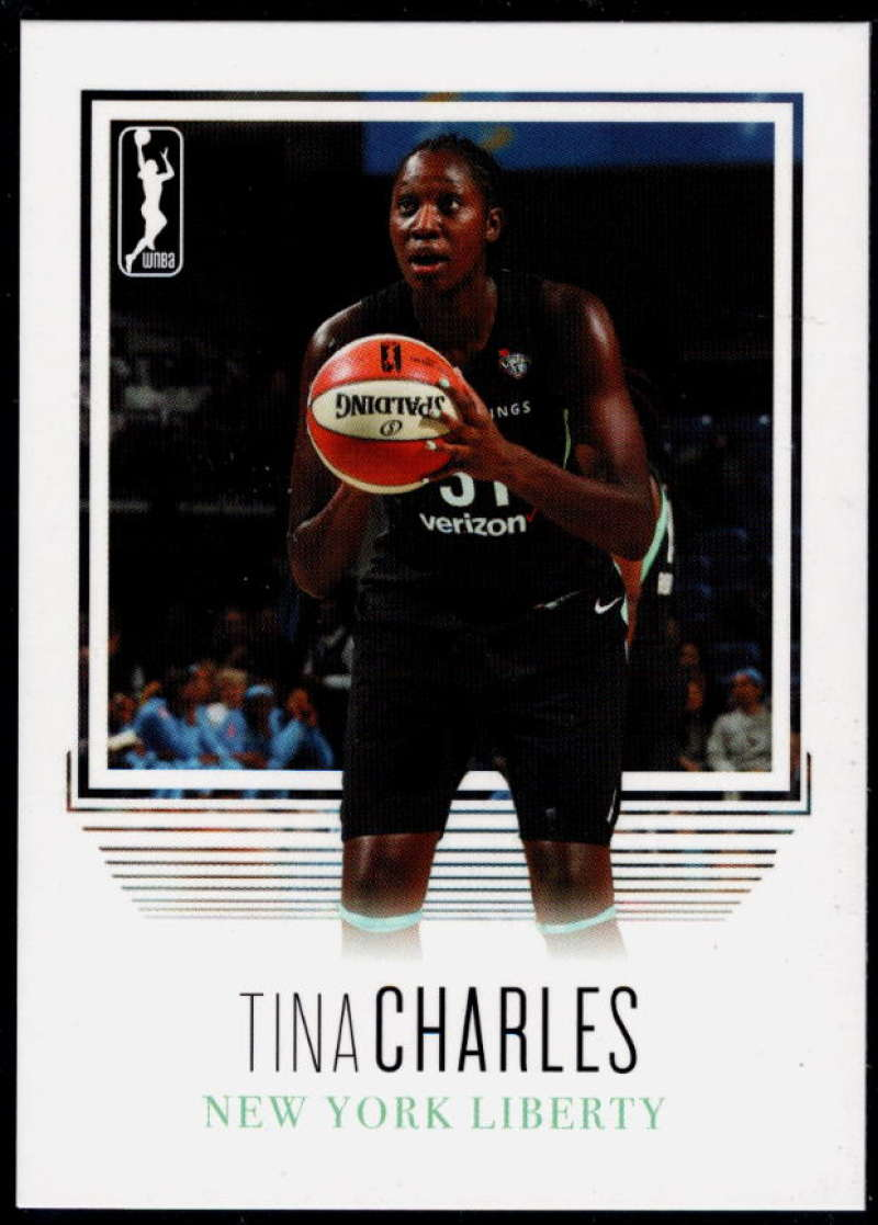 2018 Rittenhouse WNBA #83 Tina Charles NM-MT+ New York Liberty