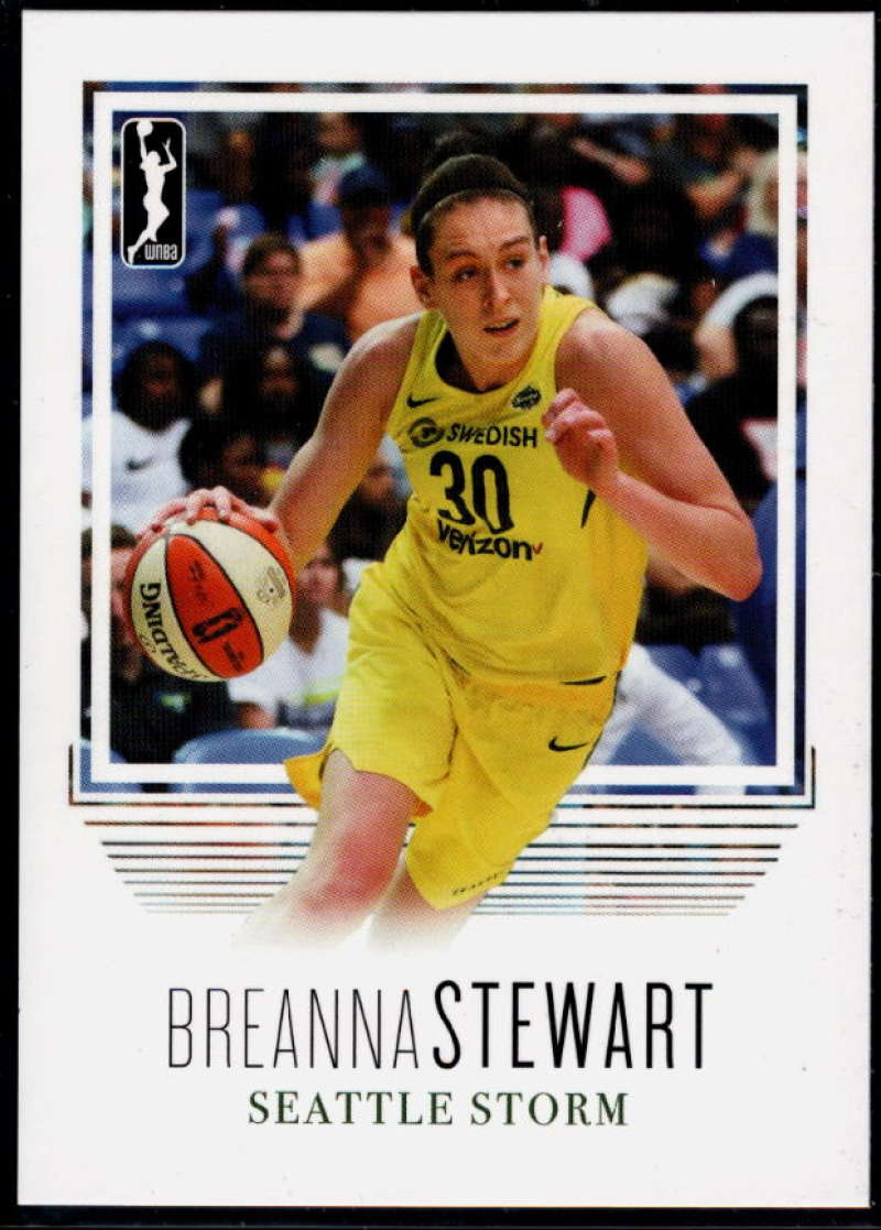 2018 Rittenhouse WNBA #93 Breanna Stewart NM-MT+ Seattle Storm