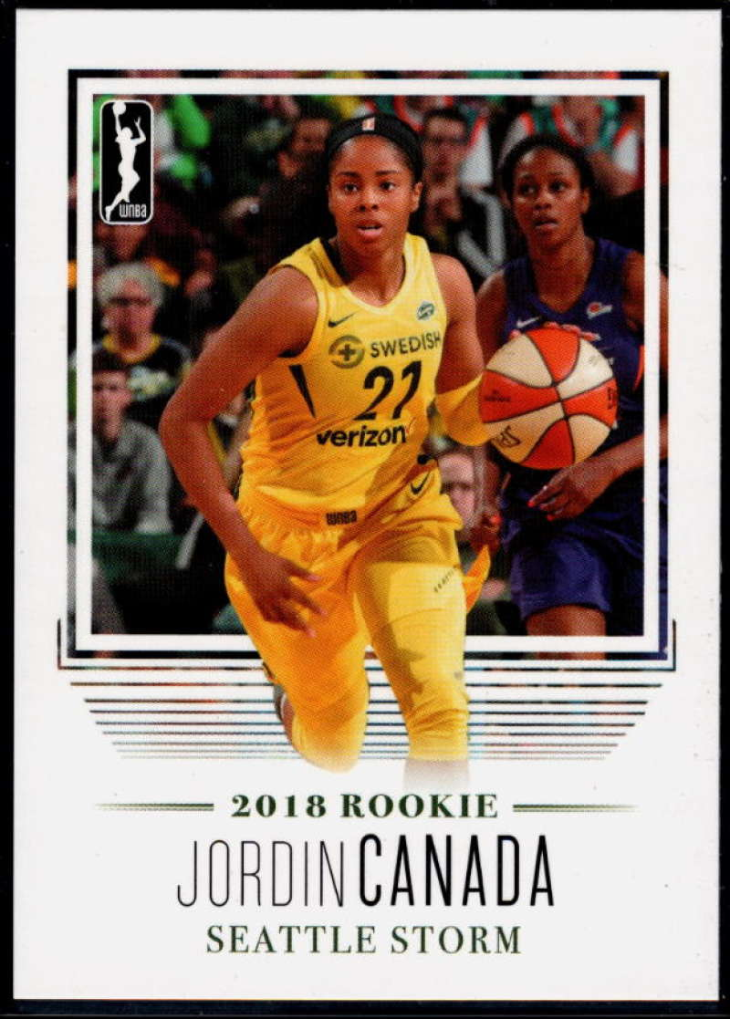 2018 Rittenhouse WNBA #96 Jordin Canada NM-MT+ Seattle Storm