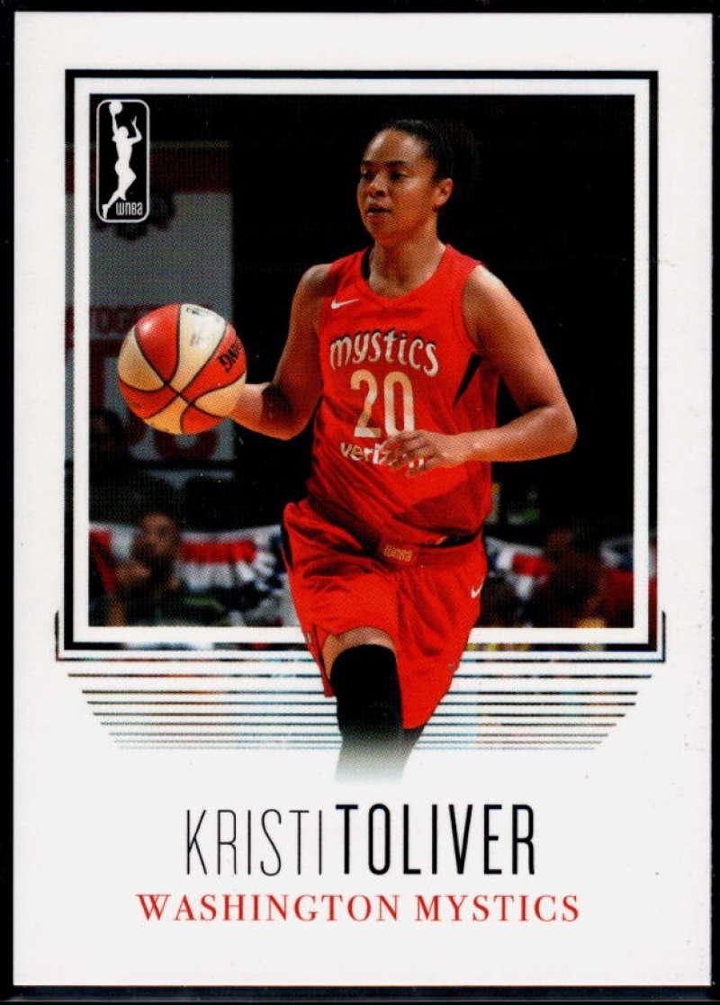 2018 Rittenhouse WNBA #102 Kristi Toliver NM-MT+ Washington Mystics