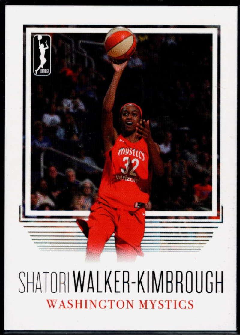 2018 Rittenhouse WNBA #108 Shatori Walker-Kimbrough NM-MT+ Washington Mystics