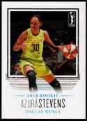 2018 Rittenhouse WNBA #31 Azura Stevens NM-MT+ Dallas Wings