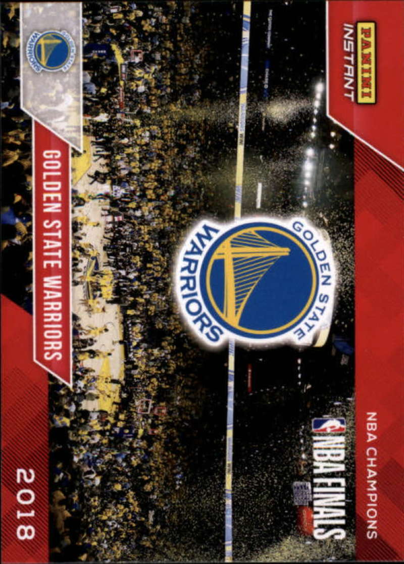 2018 Panini Golden State Warriors Championship Box Set