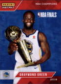 2017-18 Panini Instant Golden State Warriors Championship Box Set Basketball #7 Draymond Green  2018 NBA Champions Trading Card