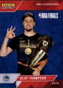2017-18 Panini Instant Golden State Warriors Championship Box Set Basketball #15 Klay Thompson  2018 NBA Champions Trading Card