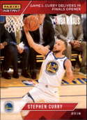 2017-18 Panini Instant Golden State Warriors Championship Box Set Basketball #18 Stephen Curry  2018 NBA Champions Trading Card
